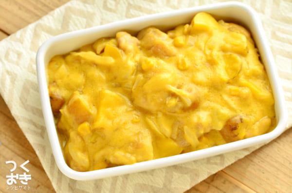 コンソメの使い方レシピ!チキンのコーンクリーム煮