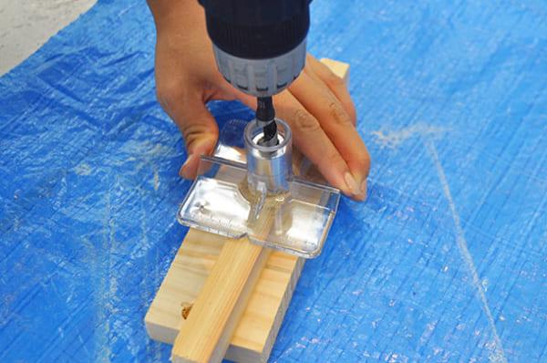 テーブルの上で簡単DIY9
