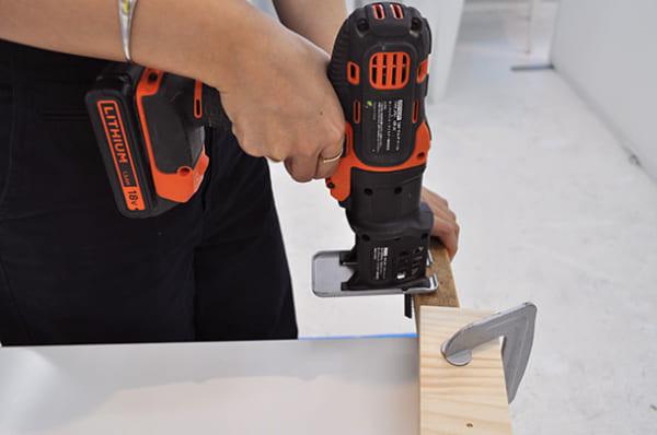 テーブルの上で簡単DIY6