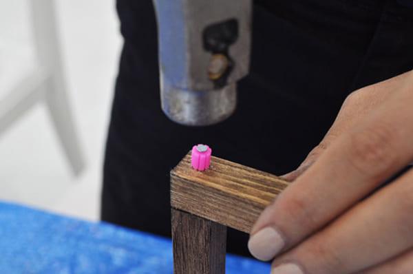 テーブルの上で簡単DIY12