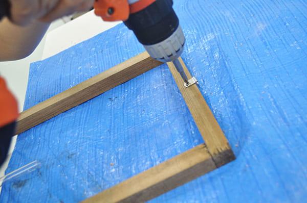 テーブルの上で簡単DIY13