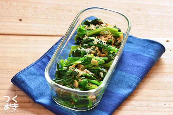 ほうれん草 簡単 人気 作り置き 副菜