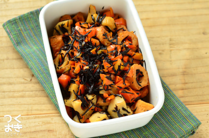 ひじきと根菜の甘辛煮