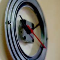 鍋ブタ時計DIY