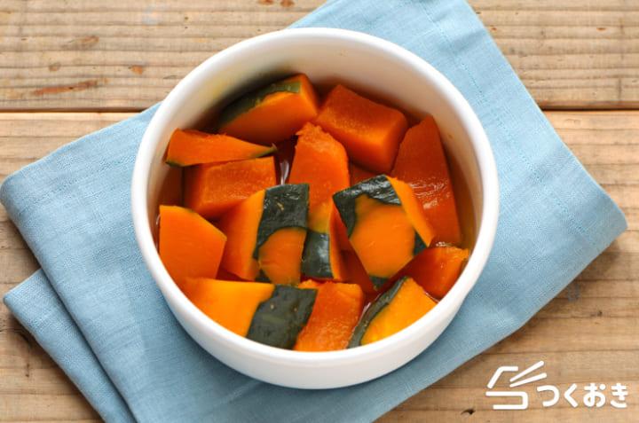 作り置きに人気!お弁当に役立つかぼちゃの出汁煮