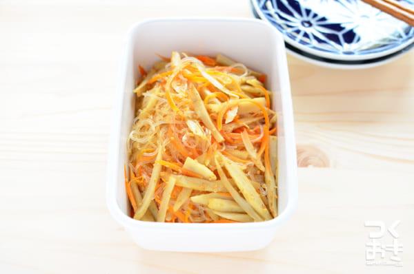 ごぼう 簡単 作り置き料理 お弁当3