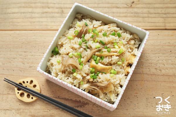 きのこ 簡単 作り置き料理 副菜・ご飯