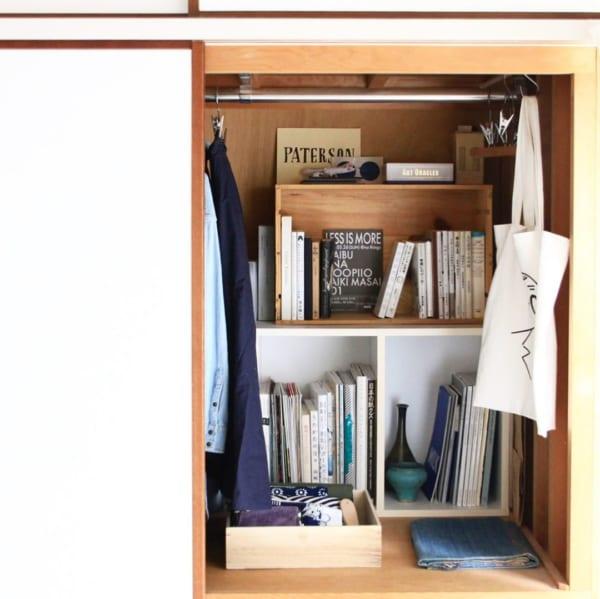 狭い部屋の収納アイデア17