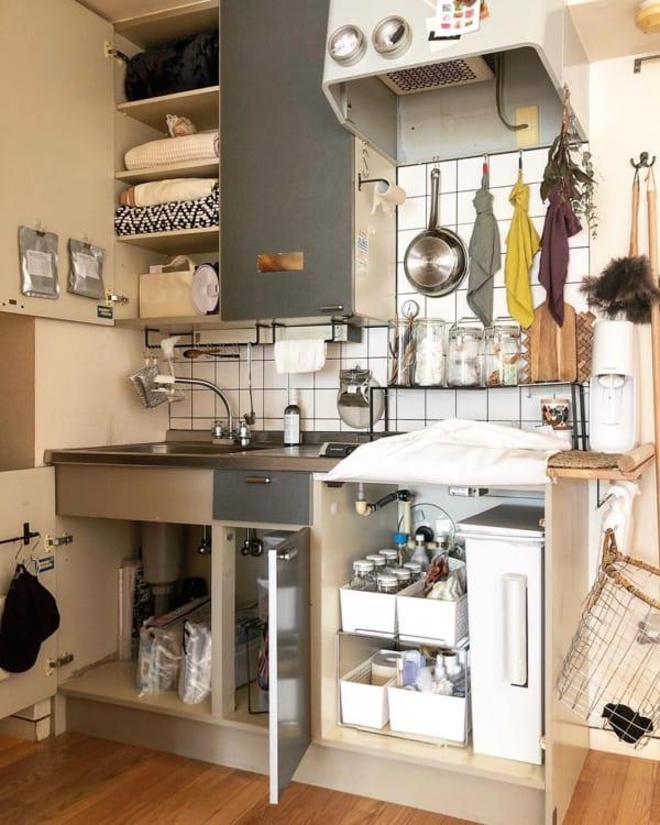 キッチン収納を最大限に活用するレイアウト