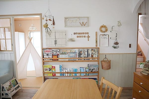 狭い部屋の収納アイデア20