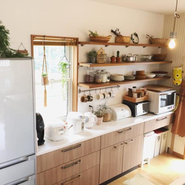 和やかで居心地の良いキッチンに