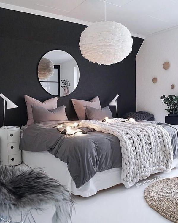冬 海外 ベッドルーム インテリア5
