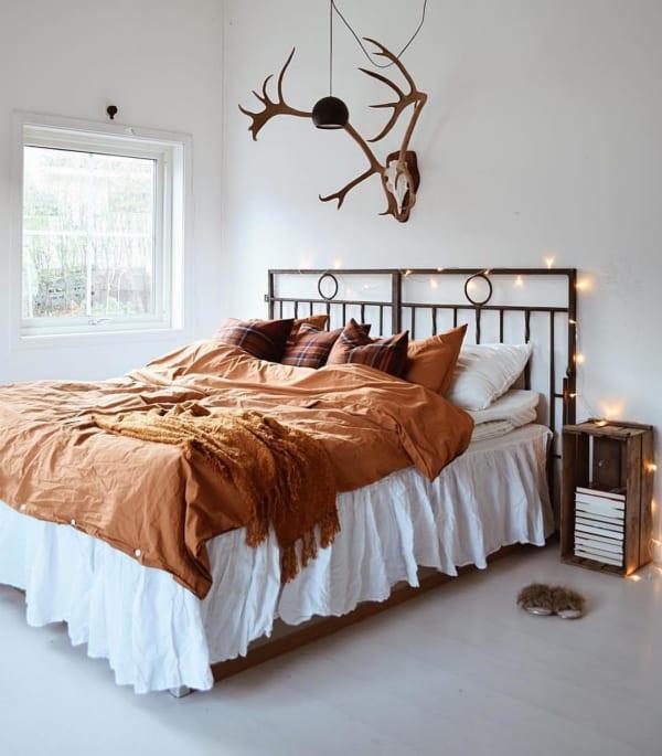 冬 海外 ベッドルーム インテリア6