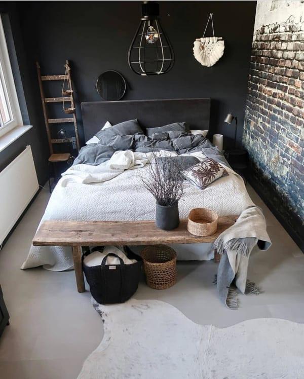 冬 海外 ベッドルーム インテリア8