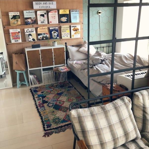 狭い部屋の収納アイデア19