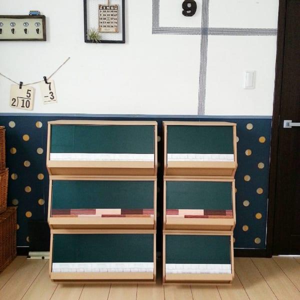 子供部屋の100均DIYアイデア7