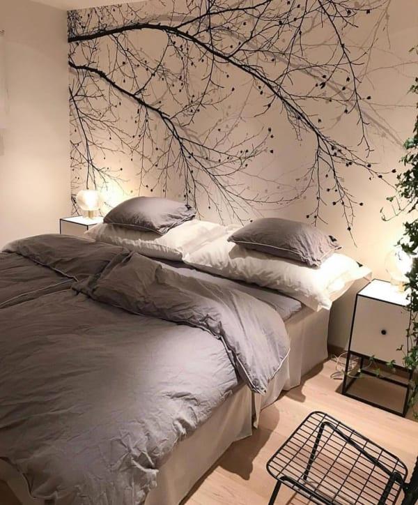 冬 海外 ベッドルーム インテリア9