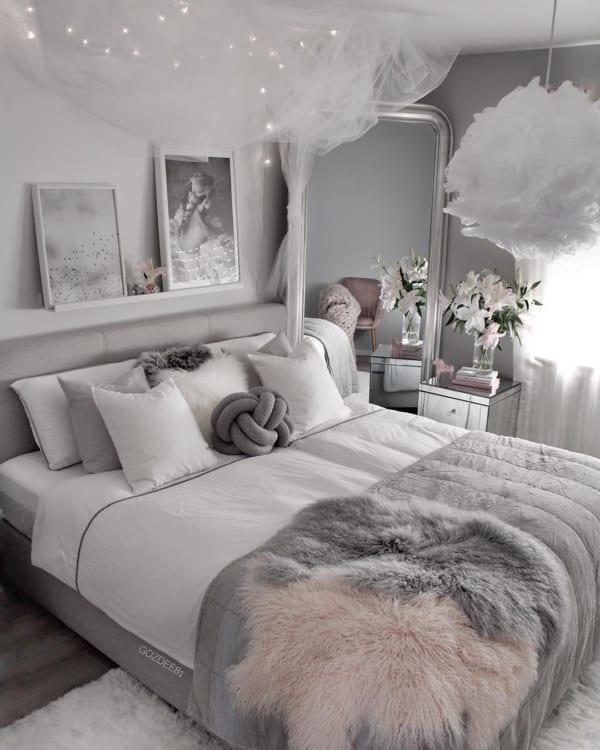 冬 海外 ベッドルーム インテリア10