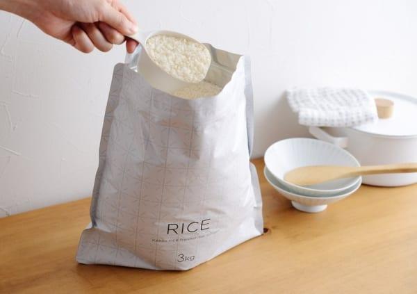 極お米保存袋(マーナ)