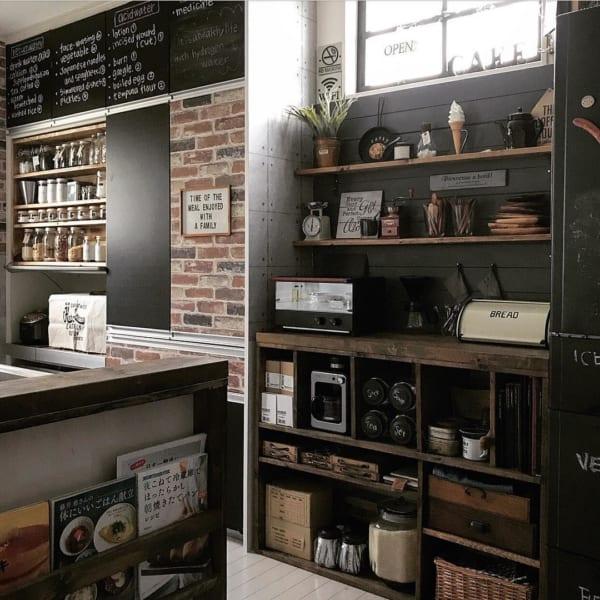 カフェ風に彩られたオシャレなキッチン3