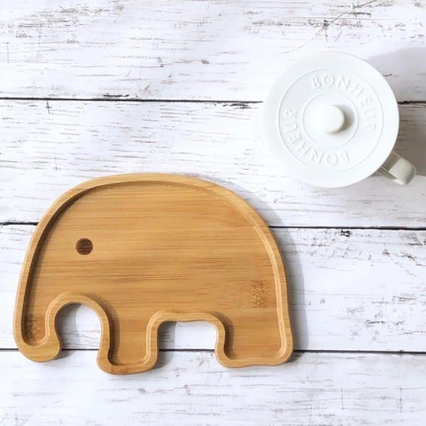 木製のアニマルトレー(ダイソー)