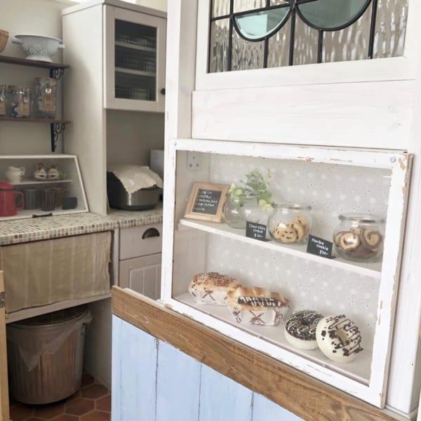 カフェ風に彩られたオシャレなキッチン8