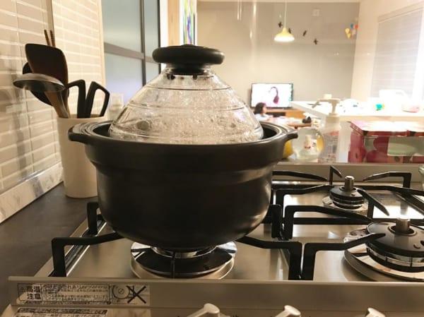 HARIOのご飯鍋