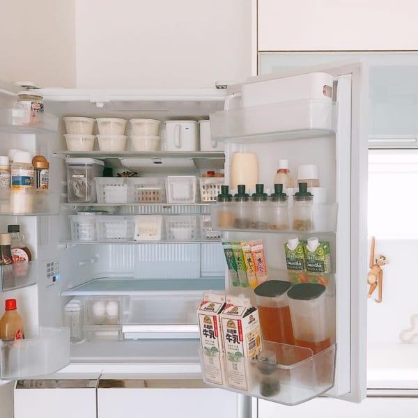 冷蔵庫の食材