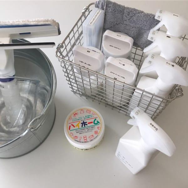 掃除道具一式もまるごと片付く無印収納アイデア