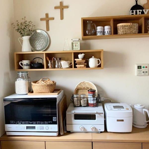 キッチンは「見せる収納」で実用性とオシャレさを両立2