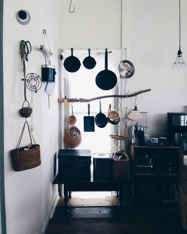 キッチンは「見せる収納」で実用性とオシャレさを両立5