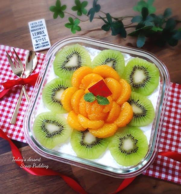 インスタ映えする手作りお菓子6