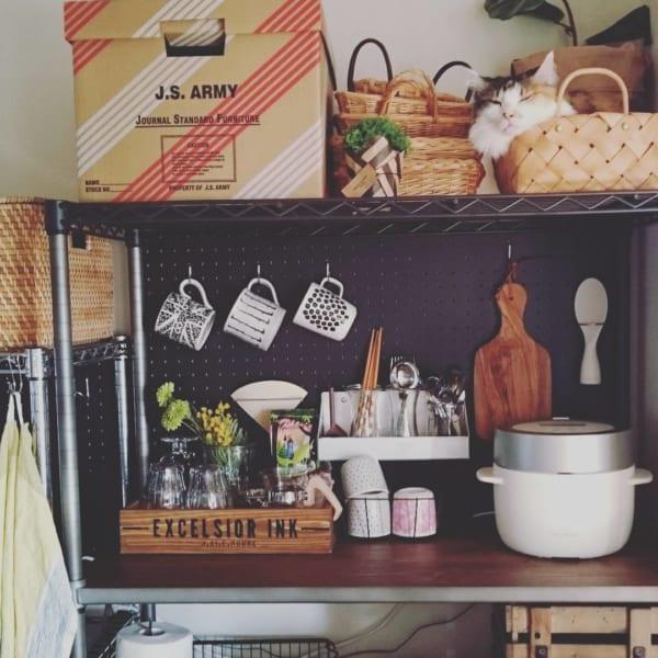 キッチンは「見せる収納」で実用性とオシャレさを両立7