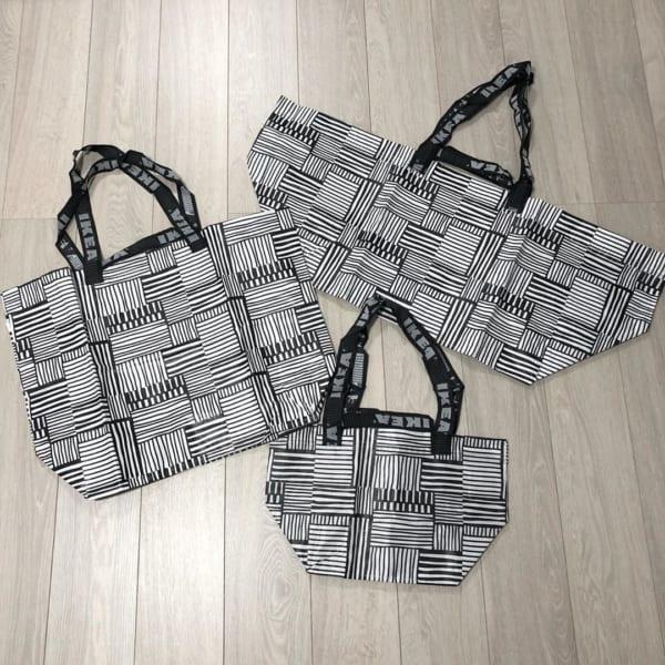 IKEAのビニールバッグ