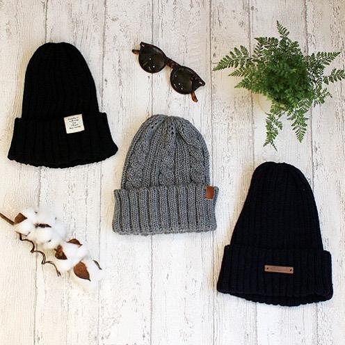 種類豊富なニット帽(CouCou)