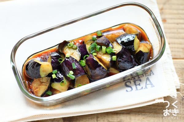 美味しい料理に!茄子の揚げ焼き南蛮