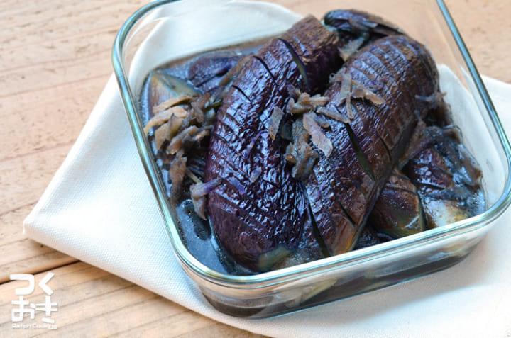 たくさん食べたいレシピ!簡単絶品なすの生姜煮☆