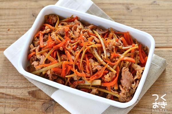 豚肉 簡単 作り置き料理 お弁当8