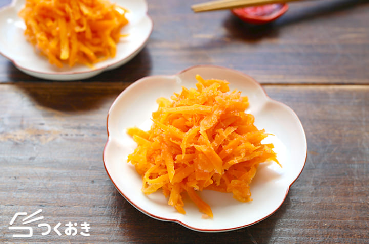 簡単レシピ!にんじんの明太子和え