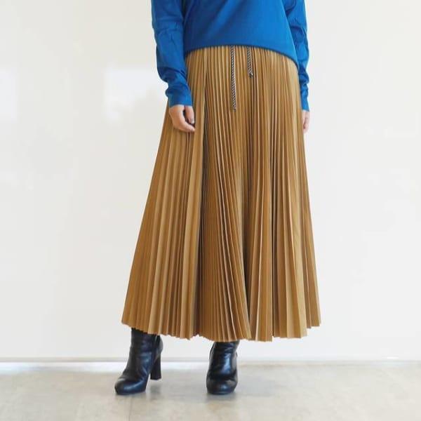 TELA - プリーツスカート