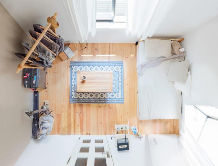 その1.横長のお部屋で5畳のレイアウトアイデア