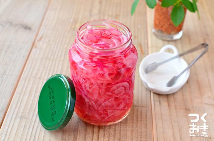 作り置きで健康に!美味しい紫玉ねぎの甘酢漬け