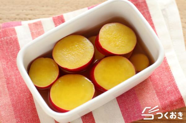 作り置きレシピに!さつまいもの簡単レモン煮