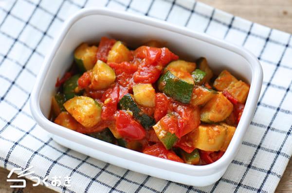 トマト 人気 作り置きレシピ おつまみ3