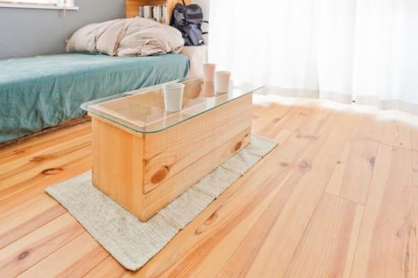 木箱を使ったおしゃれな収納実例8