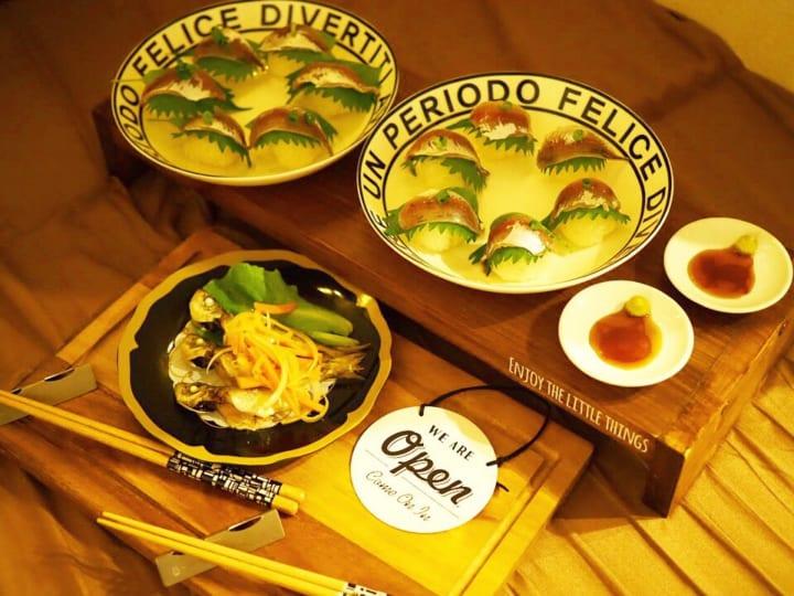 セリア 醤油小皿 ネコ2