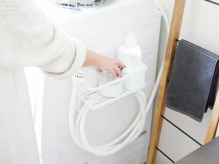 洗濯機横マグネットラック10