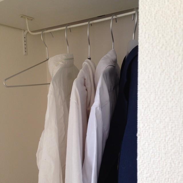 【無印】見た目も美しいアルミ洗濯用ハンガー
