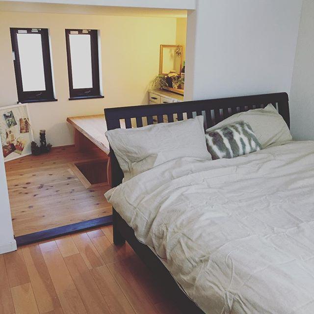 寝室のインテリア3