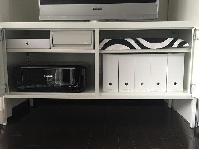 テレビ周り 収納10